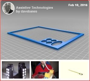 Screenshot of 3D printables Collection